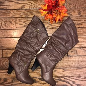 🍁👢Heeled Boots Great for Fall Cute & Comfortable